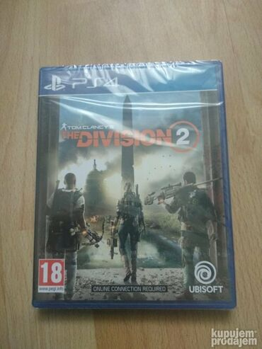 PS4 (Sony Playstation 4) | Srbija: PS4 Tom Clancy Division 2