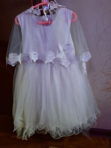 Продаю нарядные платья на 4-7 лет .Белое состояние нового Турция цена