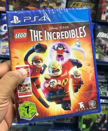 Bakı şəhərində Ps4 ucun Lego the incredibles oyunu tam bagli upokovkada orginal