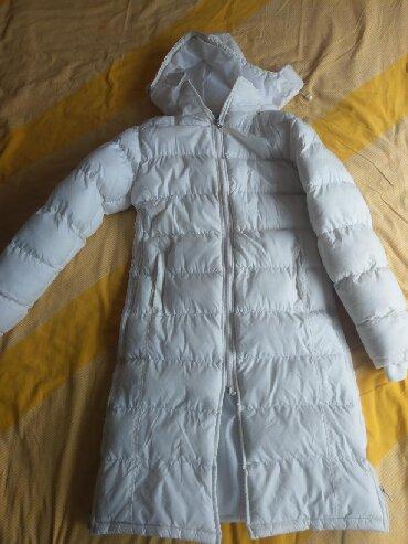 Duga zimska jakna - Srbija: Duga jakna za zimu,veličina S,rajsfešlus u dva smera I sa strane