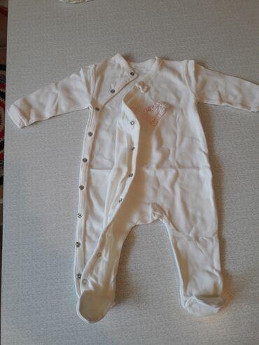 Комбинезон х/б, пр-во Турция, размер от 1-го до 4-х месяцев, одевали