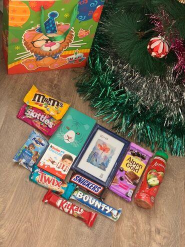 Новогодние подарки 2021 на заказ! Вкусный и оригинальный ассортимент