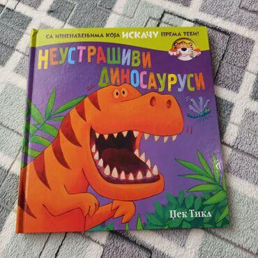 """"""" Neustrasivi dinosaurusi """" veoma lepa,zanimljiva i izuzetno ocuvana"""