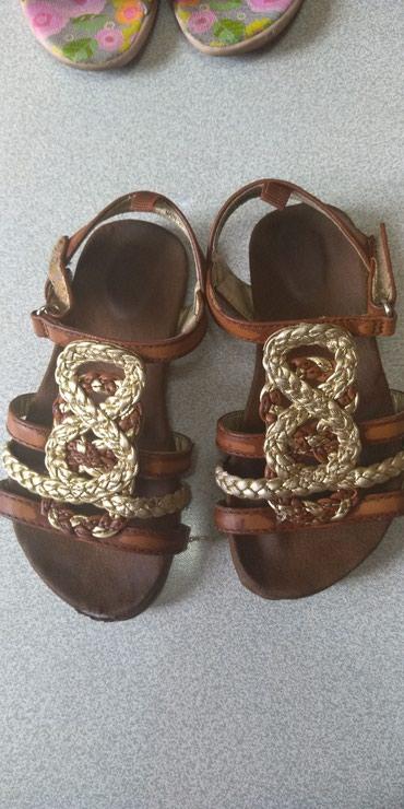 фирменная обувь в Кыргызстан: Детская обувь, босоножки туфли размер 26, состояние идеальное, кожаные