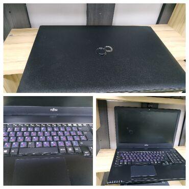 Fujitsu - Кыргызстан: Продаю ноутбук fujitsu состояние отличноебатарею держит около 3 ча