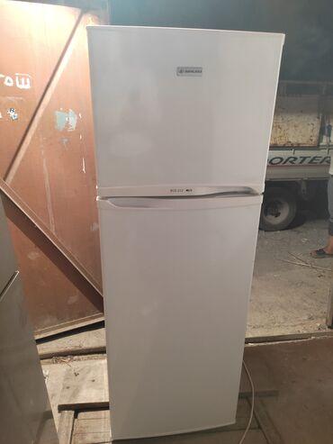 0225 какой оператор в Кыргызстан: Б/у Двухкамерный   Белый холодильник