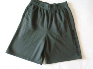 Tamnosivi, muški šorts, prijatan za nošenje, od materijala kao - Belgrade