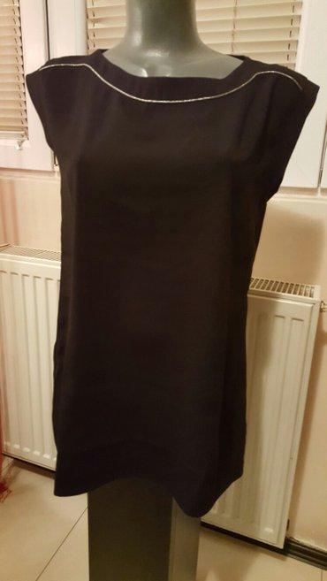 Crna elegantna bluza xl - Pozarevac