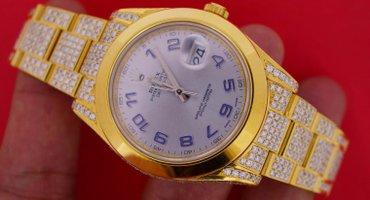 18 Carat Diamond Yellow Gold plated Rolex Datejust 2 II 41MM Watch σε Γλυφάδα