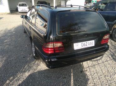 черный mercedes benz в Кыргызстан: Mercedes-Benz E-Class 2.2 л. 2002 | 300000 км