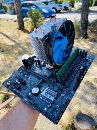 Продаю комплект Материнская плата asus prime b360Процессор i3