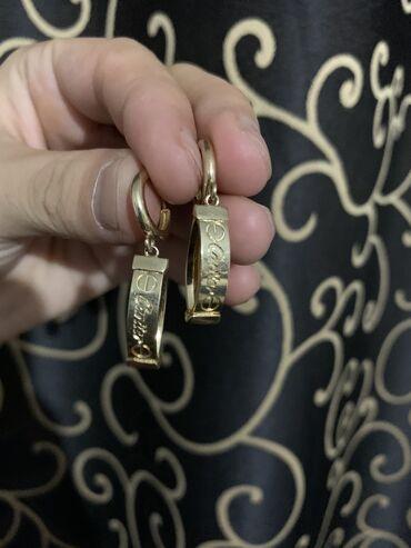 Продаю золотую Сережку Cartier  Проба 585 чистое российское золото.  Г