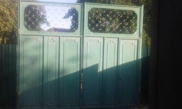 Продаю ворота 3м 3.5м сост хор  Цена 35000тыс сом ворота в Оше находит