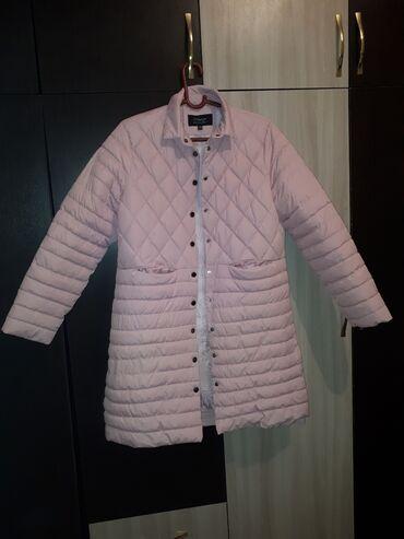 Куртки - Лебединовка: Куртка ачык розывый свет 48 50 размер осенний