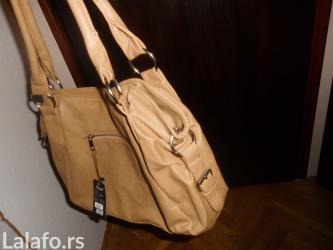 Prodajem novu zensku torbu krem boje. - Bela Palanka