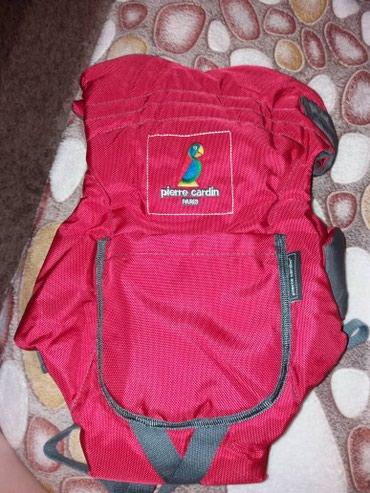 рюкзак кенгуру babybjorn в Кыргызстан: Продаю качественный кенгуру - рюкзак Pierre Cardin в идеальном