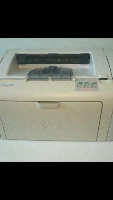 продаю отличный принтер hp 1018 в отличном состоянии картридж заправле в Бишкек