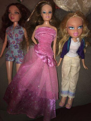 Bratz - Srbija: Lutke u kompletu 800 din tri Prva lutka ima klimav vratDruga lutka