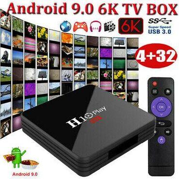 H10 play smart tv box - 99 aznbütün növ televizorlara qoşulması