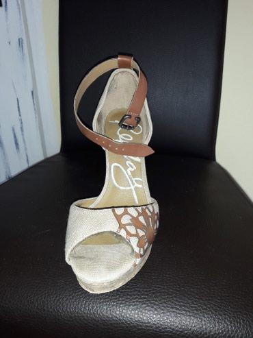 Replay sandale kombinacija koza platno bez ostecenja kao nove br 38 - Loznica - slika 2