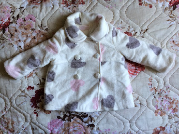 """белье для девочек в Азербайджан: Пальто для девочки на 9- 12 месяцев (74 см), Турция """"Andy wawa"""". В"""
