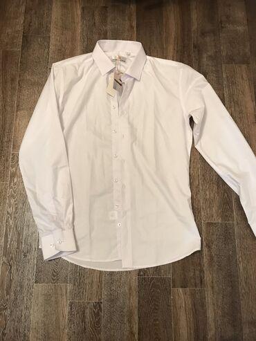 Рубашка мужская, размер: М, Турция. Цена: 300 с. Новая