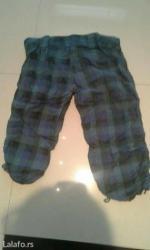 Pantalone do kolena sa uckurima - Backa Palanka