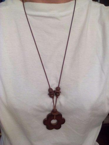 Braon ogrlica duz 45 cm - Belgrade