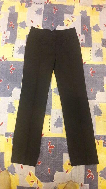 Женская одежда - Кок-Джар: Классические брюки от котоn, в новом состоянии, 34 р