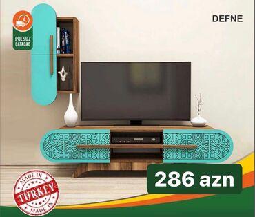 Defne TV stend Yalniz Nagd satilir.Çatdirilma Pulsuzdur.Qymet: 286