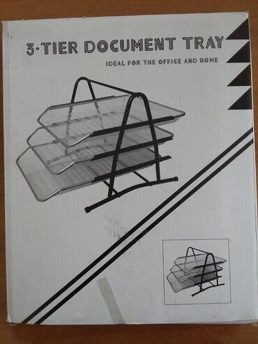 Сканеры пзс ccd глянцевая бумага - Кыргызстан: Продаю новый лоток для бумаги 3х уровневый