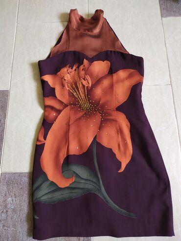 Короткое платье на худенькую девушку, дл.80 см., с подкладом, отл