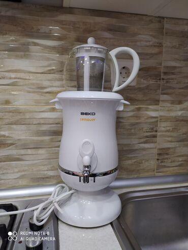 bir tankda istifadə edilən mebel - Azərbaycan: Beko samavari satilir, suyu daima isti saxlayir, 2 dəfə istifadə
