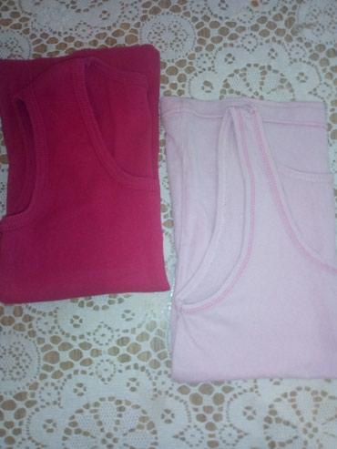 Dečiji Topići I Majice   Sid: Dve majice na bretele, za devojcice od 7-8 godina. Obe za 200 din