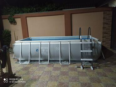 hovuz satilir in Azərbaycan   HOVUZLAR: Hovuz satılır intex firmasının.Hundurluy 1 metr eni 2m uzunu 4