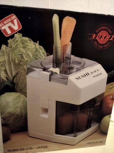 Elektronika | Sremska Kamenica: Odlican sokovnik japanske marke Nushi 300 W ocuvan i sjajno radi i ima