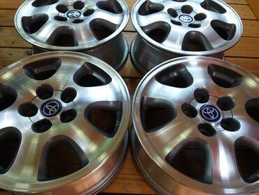 диски момо r18 в Кыргызстан: Оригинальные r16 диски для Toyota\ТойотаДиски б\у в отличном