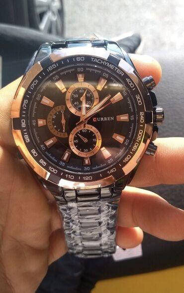 curren 8158 в Кыргызстан: Золотистые Мужские Наручные часы Curren