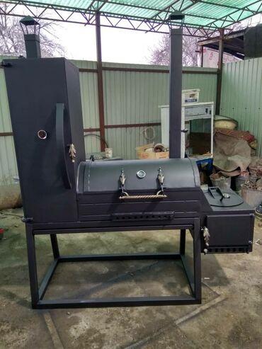 smoker koptilnja gril mangal в Кыргызстан: Смокер гриль 4 в 1. Барбекю,мангал,казан и коптильня