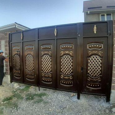 акриловые краски для ткани в Кыргызстан: ВОРОТА! ВОРОТА! ИЗ РОССИЙСКОГО МЕТАЛЛА! КАРКАС ПРОФИЛЬ 5 НА 3 ТОЛШИНА