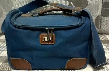 Ženska teget torba/neseser.Može da se nosi kao putna torba/ručni prtlj - Beograd