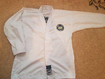спортивный-комплект в Кыргызстан: Продаю кимоно.Полный комплект:верх и низ.ITF.11-13 лет