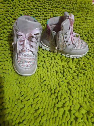Детские ботиночки 25 размер, носили 2 недели. Купили 3 недели назад