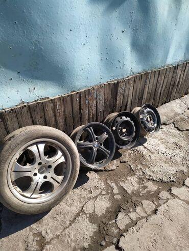 r14 диски 4 в Кыргызстан: Все в комплекте по 4 штОбычные диски R14 по 400 за 1штДиски БМВ R15 по