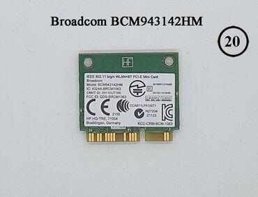 Broadcom BCM943142HMWiFi + Bluetooth 4.0 plata noutbuk üçünBrand