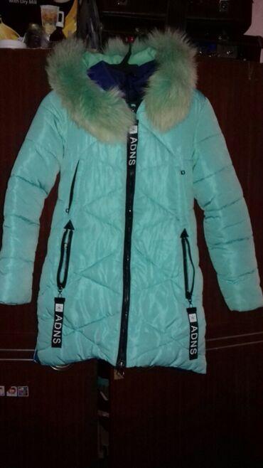 Зимняя куртка. Тёплая на 10-11лет