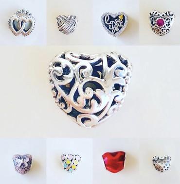 Шармы - Кыргызстан: Новые шармы для браслета Pandora  Серебро 925  Шармы 500с  Браслеты Pa