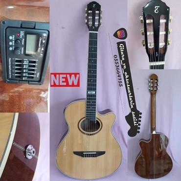 Tagima Veqas- - YENİ elektro klassik gitara.çanta və şnur hədiyyə