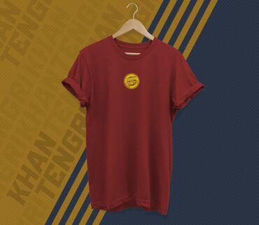 """Личные вещи - Кыргызстан: Футболка с принтом """"Urban Kyrgyz"""" Бишкек Дизайнерские футболки с нацио"""