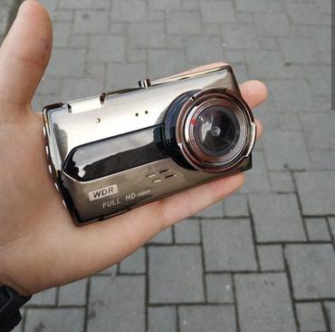 Avtomobil ucun 2 kamerali videoqeydiyyatci . ön arxa cekilis. hd в Bakı